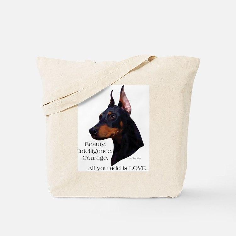 Dobe-Add Love Tote Bag