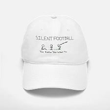 Large Silent Football Grass Baseball Baseball Cap