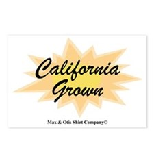 2-california-grown Postcards (Package of 8)