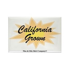 2-california-grown Rectangle Magnet