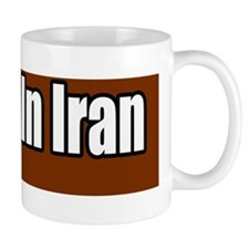 No-War-in-Iran-Bumper-Sticker copy Mug