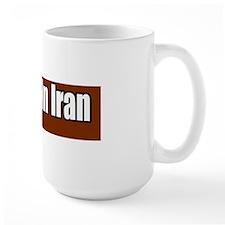 No-War-in-Iran-Bumper-Sticker copy Mug