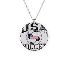 usa soccerballWHT Necklace
