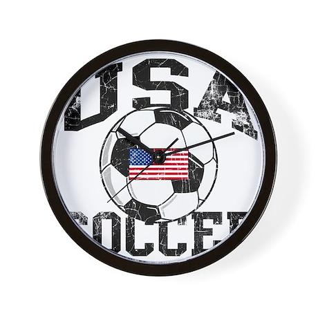usa soccerballWHT Wall Clock