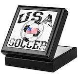 Soccer Keepsake Boxes