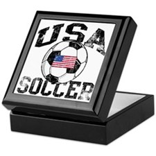 usa soccerballWHT Keepsake Box