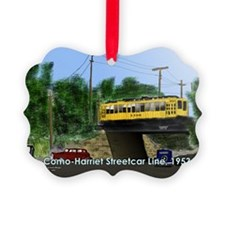 36thAndRichfield1953Postcard Ornament