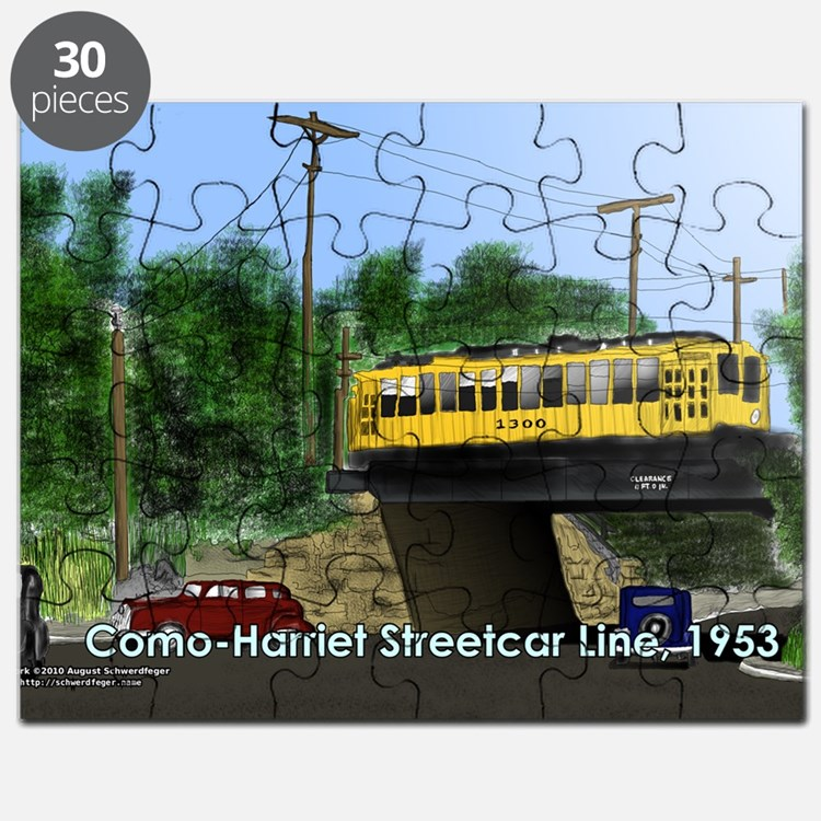 36thAndRichfield1953Postcard Puzzle