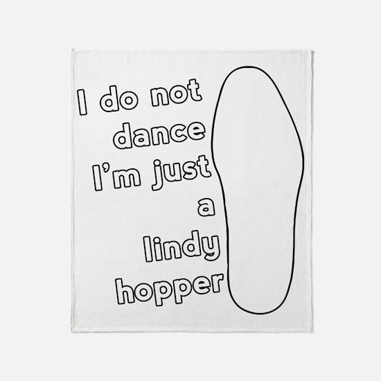 JustALindyHopper_LIGHT Throw Blanket