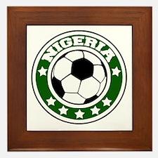 nigeria Framed Tile