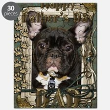French_Quarters_French_Bulldog_DAD_Teal Puzzle