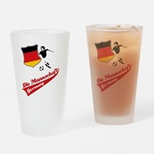 german_soccer Drinking Glass