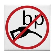 no_bp Tile Coaster