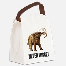 NF Woolly Mammoth-1 Canvas Lunch Bag