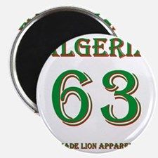 Algeria football back copy Magnet