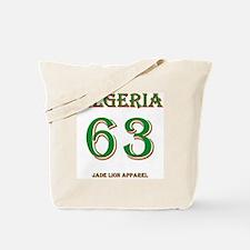 Algeria football back copy Tote Bag
