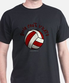 volleyball-red T-Shirt