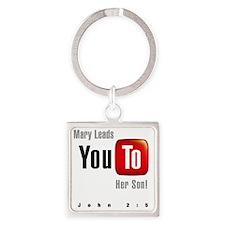 youtoLight Square Keychain