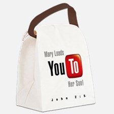 youtoLight Canvas Lunch Bag