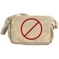 gas_nozzle_black Messenger Bag