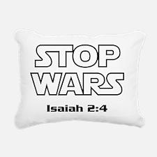 StopWars_Light Rectangular Canvas Pillow
