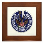 Presidential Intern Recruiter Framed Tile