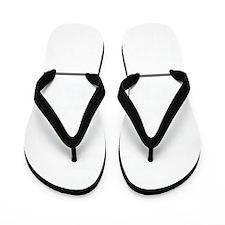 dark Flip Flops