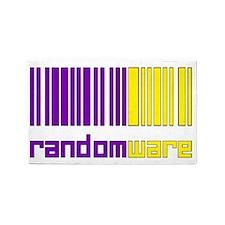 Random Codes4 3'x5' Area Rug