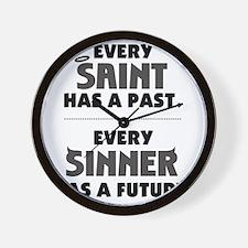 every_saint_light Wall Clock