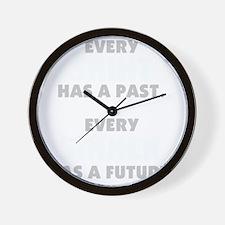 every_saint_dark Wall Clock