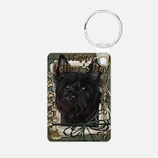 French_Quarters_Carin_Dk_R Keychains