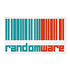 Random Codes2 3'x5' Area Rug