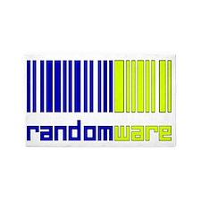 Random Codes3 3'x5' Area Rug