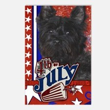 July_4_Firecracker_Carin_ Postcards (Package of 8)