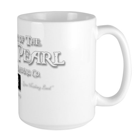 2-black pearl-d Large Mug