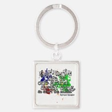life_is_a_song Square Keychain