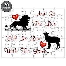 lionlambblk Puzzle
