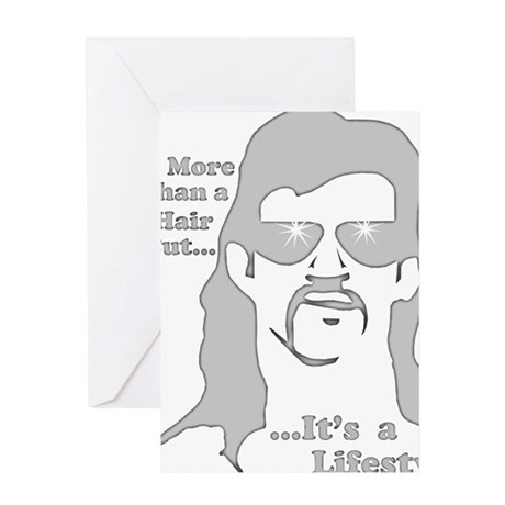 Mullet-Lifestyle-d Greeting Card