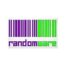 Random Codes 3'x5' Area Rug