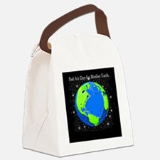 BAD AIR DAY FOR MOTHER Canvas Lunch Bag