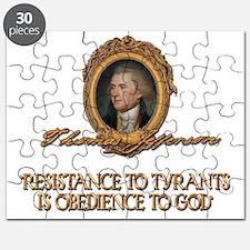 Jefferson Resistance to Tyrants Puzzle