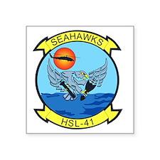 """hsl-41_sea_hawks Square Sticker 3"""" x 3"""""""