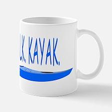 CRAWLWALKKAYAKBLUE Mug