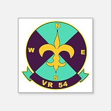 "vr54 Square Sticker 3"" x 3"""