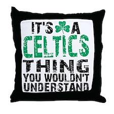 Celtics Thing Throw Pillow