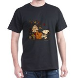 Peanuts gang Mens Classic Dark T-Shirts