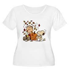 Fall Peanuts T-Shirt