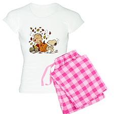 Fall Peanuts Women's Light Pajamas
