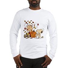 Fall Peanuts Long Sleeve T-Shirt