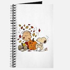 Fall Peanuts Journal